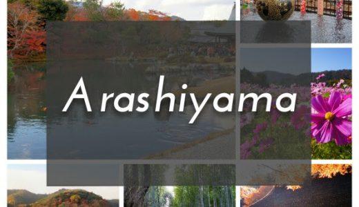 【旅ブロガー厳選】嵐山観光のおすすめモデルコース。京都らしい景色をおいしいランチを食べる旅