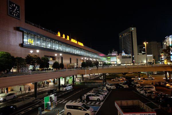 仙台駅。大宮駅と完全に一致する見た目。