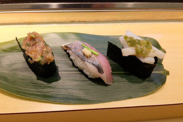 牛タンの後に北辰鮨。贅沢しすぎて明日死ぬかもしれない。