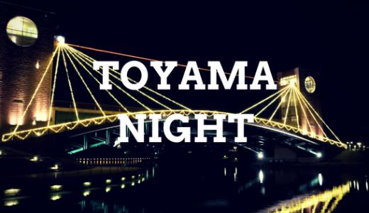 夜の富山観光ならこれしかない!おいしいものと絶景イルミをサクッと楽しむ旅へ