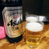 瓶ビールは2人で飲むのにちょうどいい
