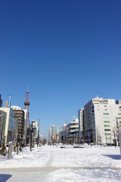2日目の始まり。最高にいい天気です。