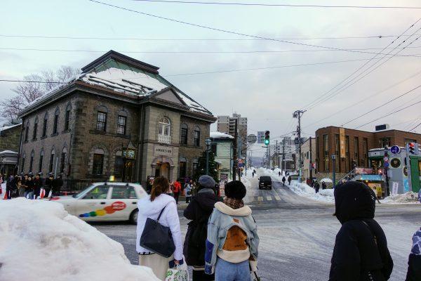 小樽オルゴール堂。小樽はレトロな建物が多いですね。