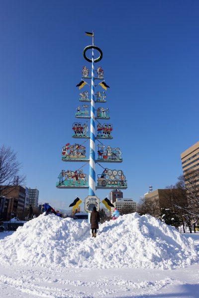 3日目も快晴。空が青くて雪が白ければ幸せです。