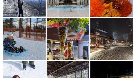 3歳と行く冬の北海道・星野リゾートトマム旅行記